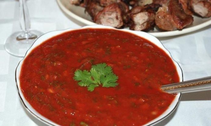 Армянский соус к шашлыку рецепт