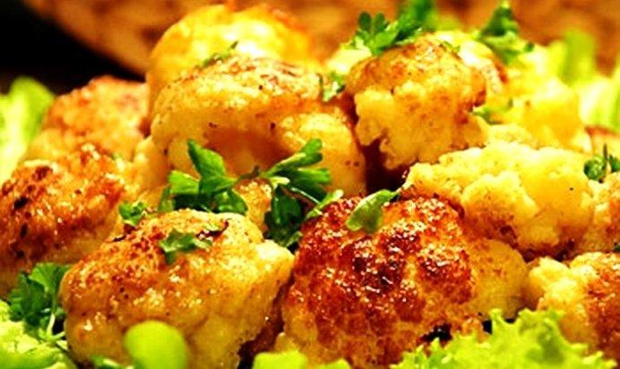 Рецепт жареной цветной капусты в кляре пошагово