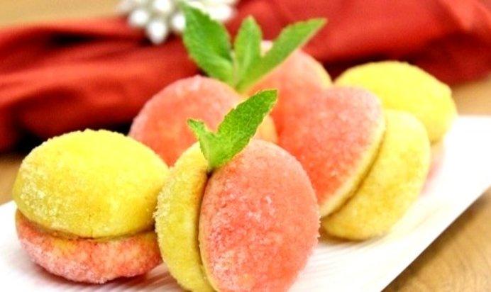 Пирожное персики рецепт пошаговый