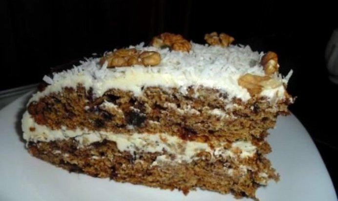 первые листья финиковый торт рецепт с фото надрезать
