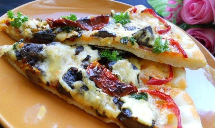 Пицца с лесными грибами рецепт с фото