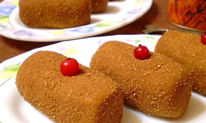 Простой рецепт пирожного картошка из печенья