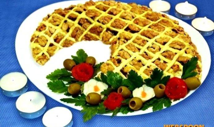 Рецепт салат рог изобилия
