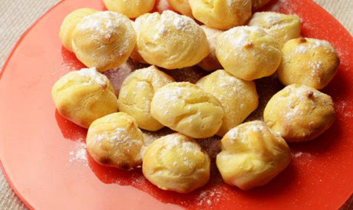Профитроли рецепт пошагово с творожным кремом