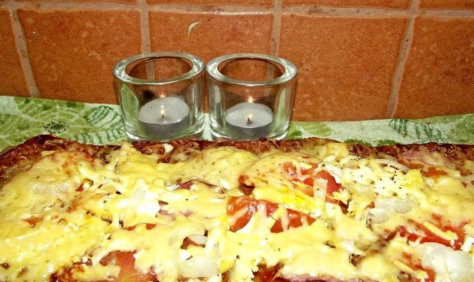 Как готовить пиццу в домашних условиях пошаговый рецепт с фото