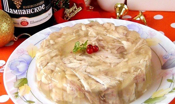 Холодец из свинины рецепт простой 162