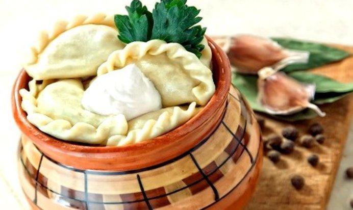 пельмени в горшочках рецепт с фото пошагово