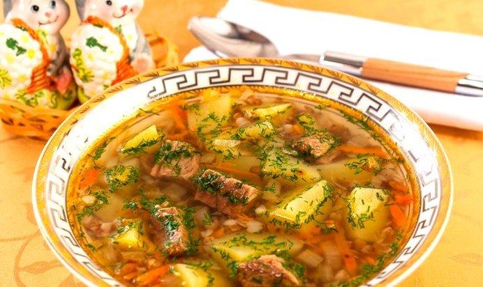 Как приготовить суп с гречкой рецепт с фото пошагово