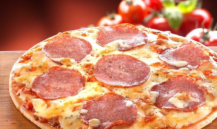 Рецепты вкусной пиццы с колбасой в домашних условиях с фото