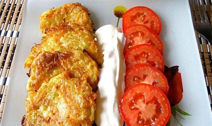 Рецепт оладьев из кабачков с фото пошагово сладкие тонкие