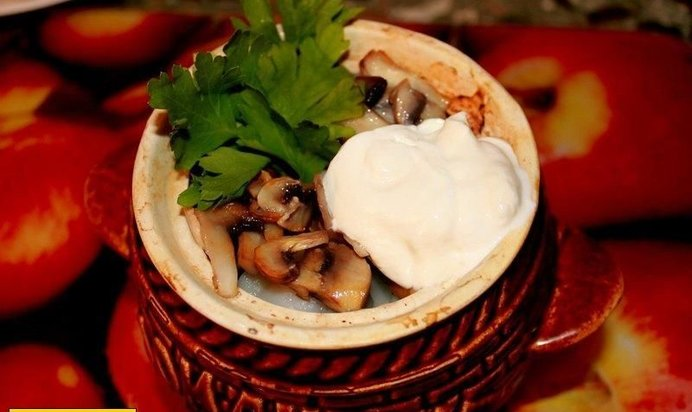 Пельмени в горшочках рецепт пошаговый