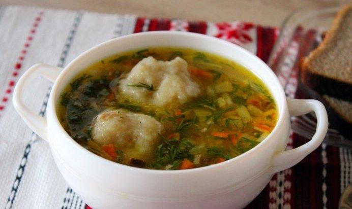 Суп с клёцками картофельными пошаговый рецепт с фото