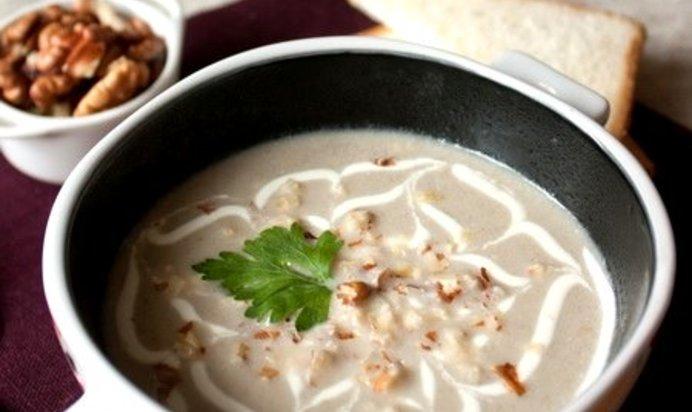 Крем суп из шампиньонов простой рецепт