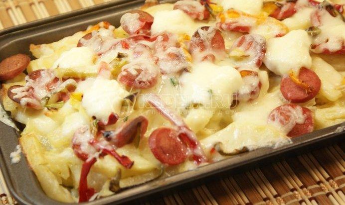 Блюда из сосисок рецепты