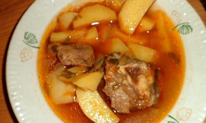 Подлива с мясом пошаговый рецепт