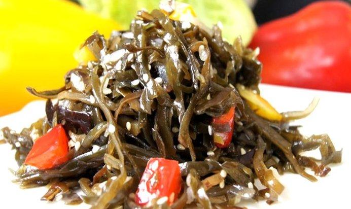 Корейский салат из морской капусты рецепт