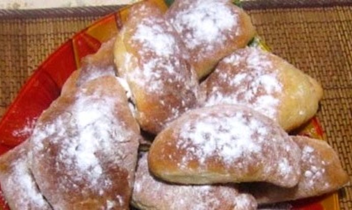 Пирожки с повидлом в духовке пошаговый рецепт без дрожжей