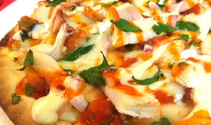 Пицца с курицей рецепт пошагово с фото