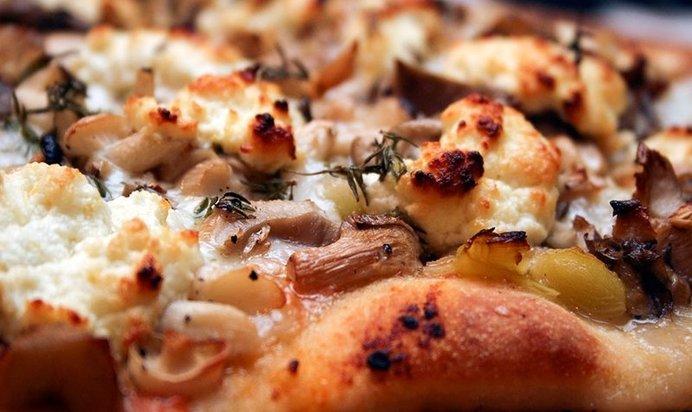 Рецепты пиццы в домашних условиях из грибов 122