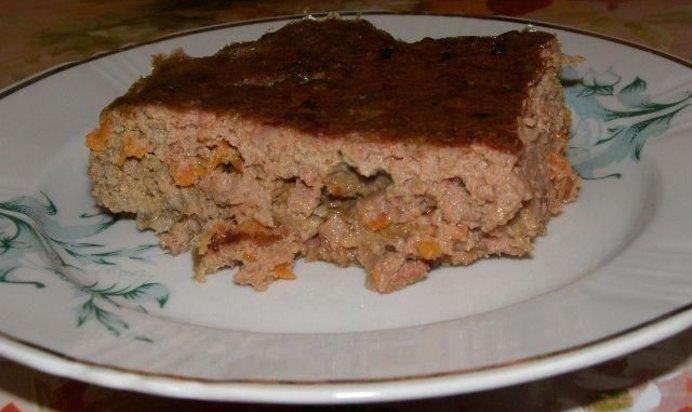 Рецепт запеканки из печени с рисом в духовке