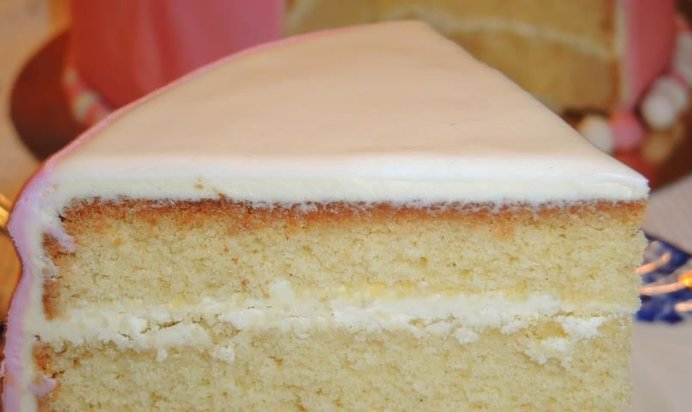 Бисквитный торт просто и быстро