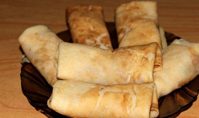 Вкусные блинчики с мясом рецепт с фото пошагово