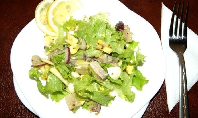 Рецепт салата с селедкой