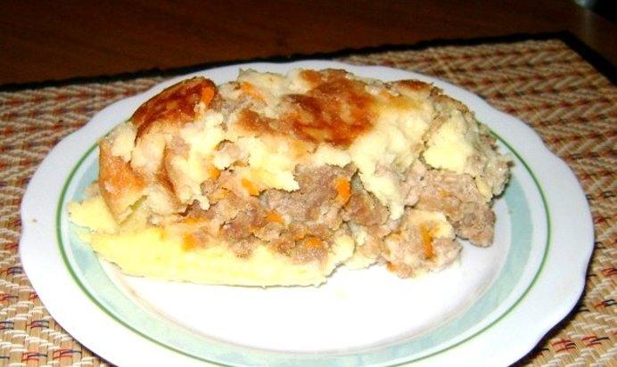 Запеканка картофель с фаршем в мультиварке рецепты с фото