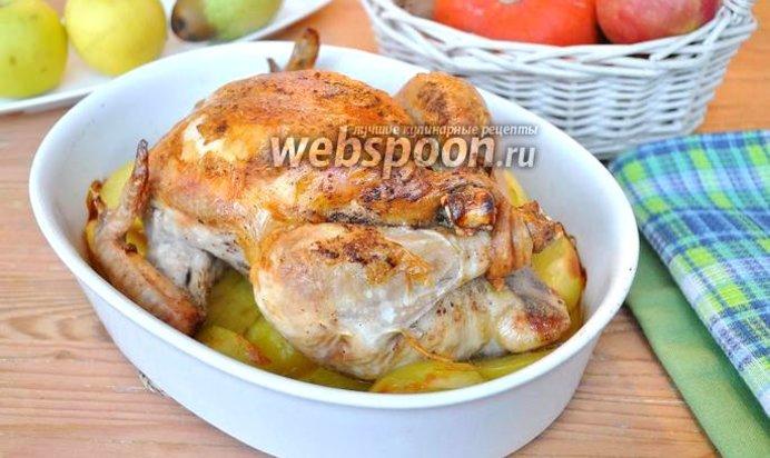 Курица с перловкой в духовке рецепт