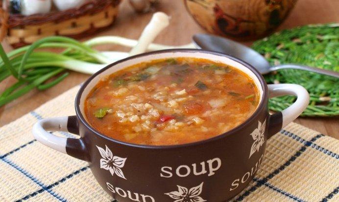 томатный суп с лапшой рецепт с фото пошагово в