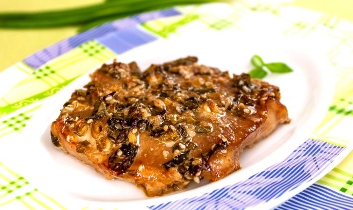 Свинина в соленом соусе рецепт