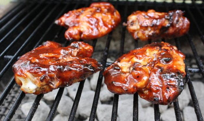 Курица в маринаде барбекюы