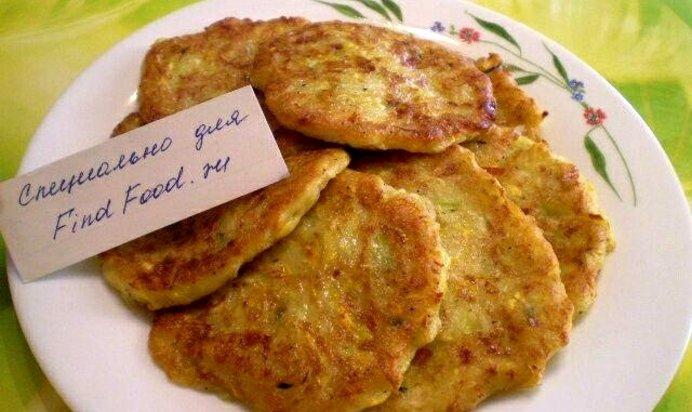 Оладья из кабачков с сыром пошаговый рецепт с фото