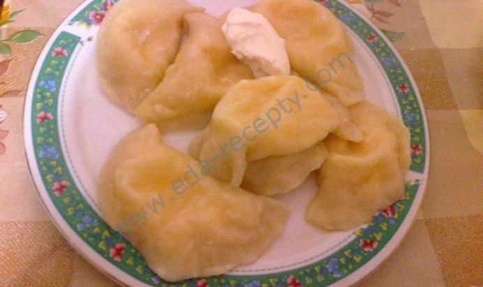 Вареники с картошкой сырой пошаговый рецепт с фото