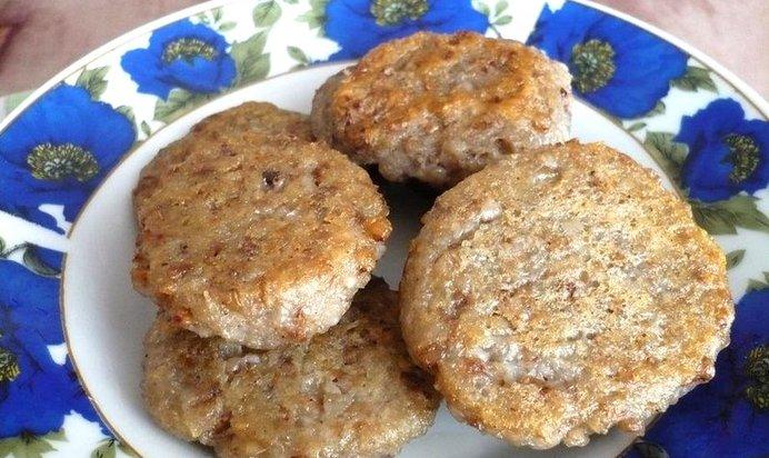 Постные картофельные котлеты пошаговый рецепт