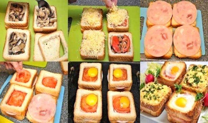 Рецепты бутербродов пошагово или с фото