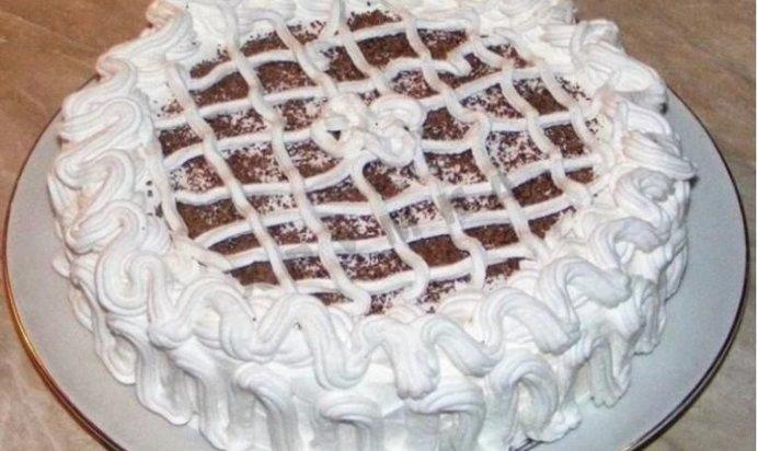 Рецепты тортов со сливками.фото