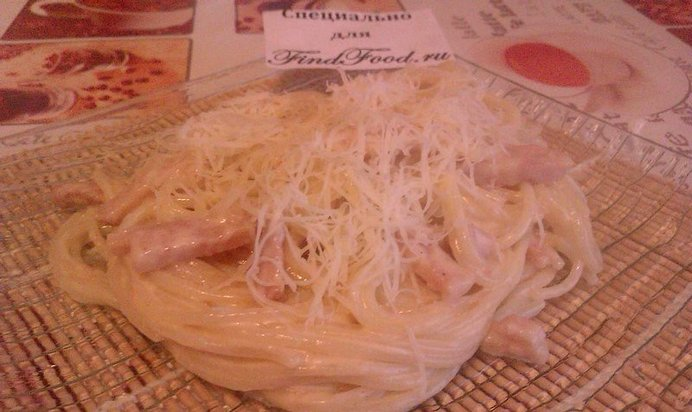 Спагетти карбонара рецепт с пошагово