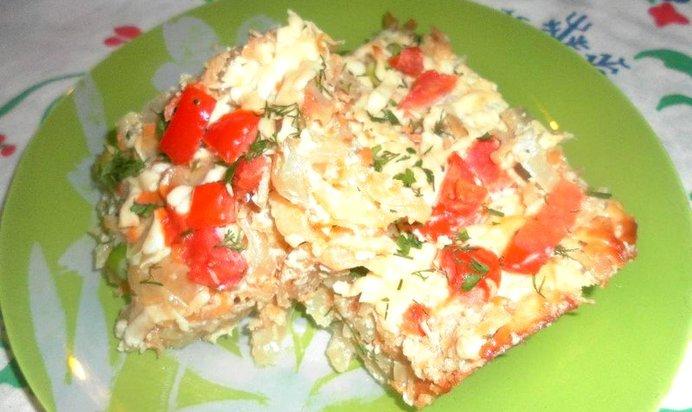 Запеканка капусты белокочанной рецепты с фото