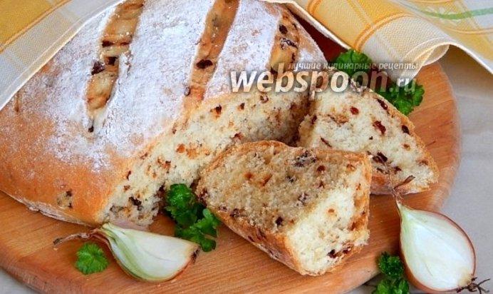 Рецепт хлеба с луком в духовке в домашних условиях