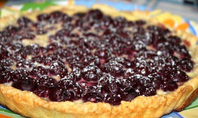 Песочный пирог ягодный рецепт с