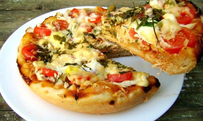 Пицца пошаговый рецепт с фото в мультиварке