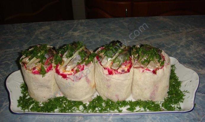 салат с селедкой рецепты с фото