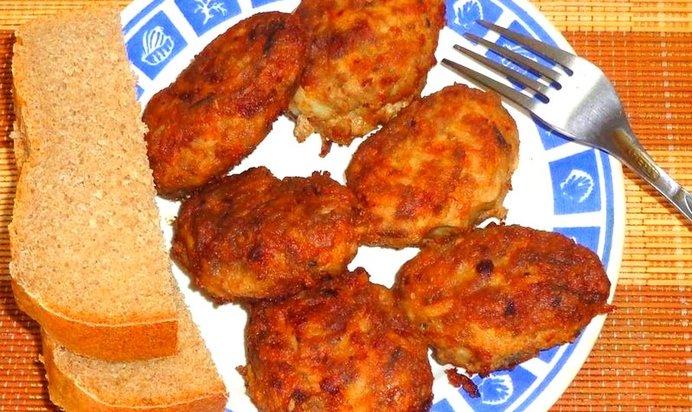 Котлеты мясные рецепт пошагово с фото