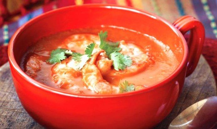 Рецепт суп томатный с морепродуктами рецепт пошагово