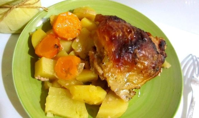 маринованная курица в духовке рецепт с фото