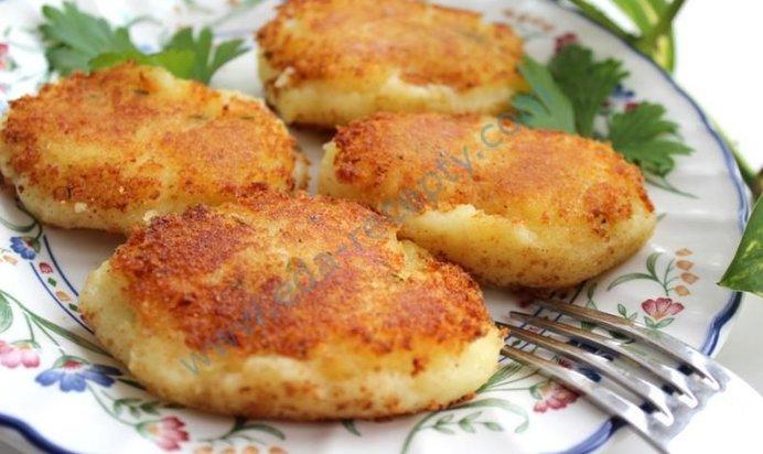 Постные картофельные котлеты рецепт