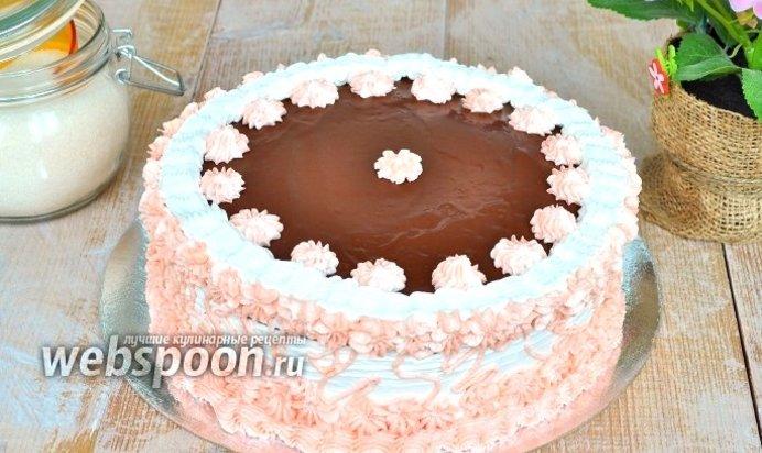 Торты бисквитные рецепты с фото и крем к нему