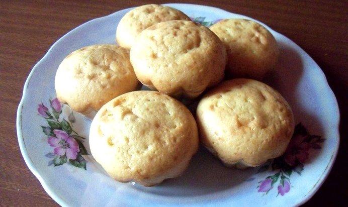Кексы на сметане рецепты с фото пошагово
