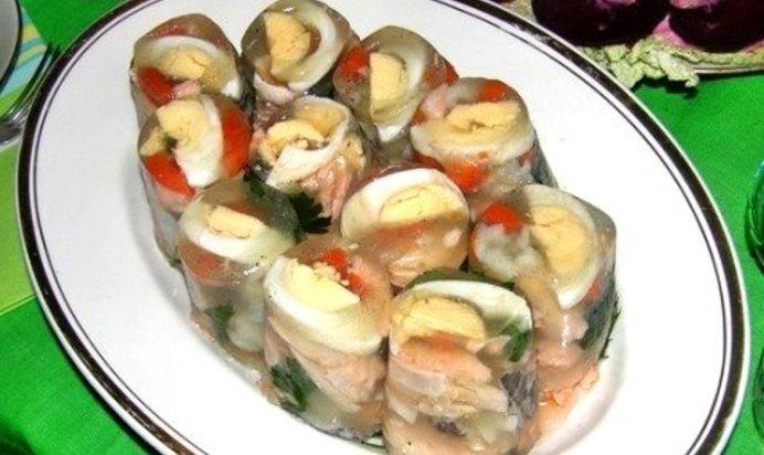 Простой рецепт заливной рыбы с желатином